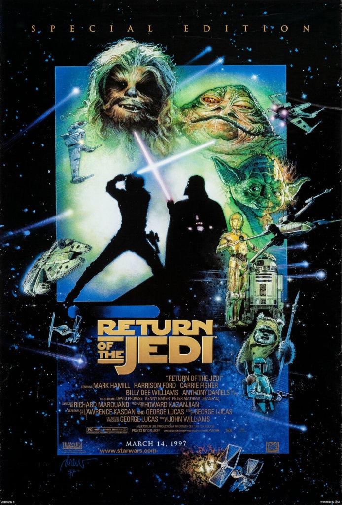 Постер по фильму Звёздные войны: Возвращения Джедая