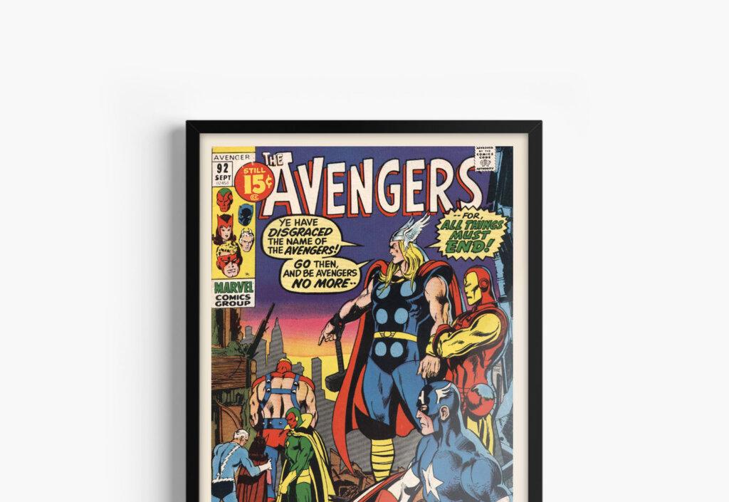 Постеры по комиксам