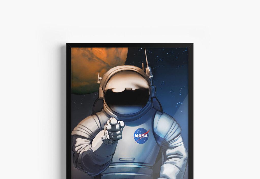 Постеры на тему науки и космоса