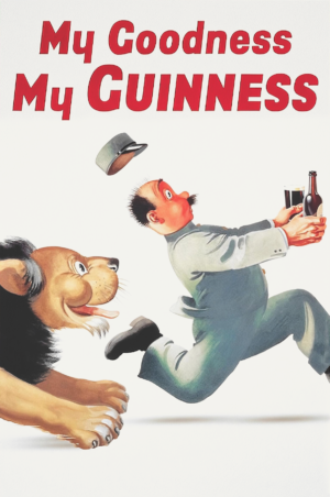 Рекламный постер «My Goodness My Guinness»