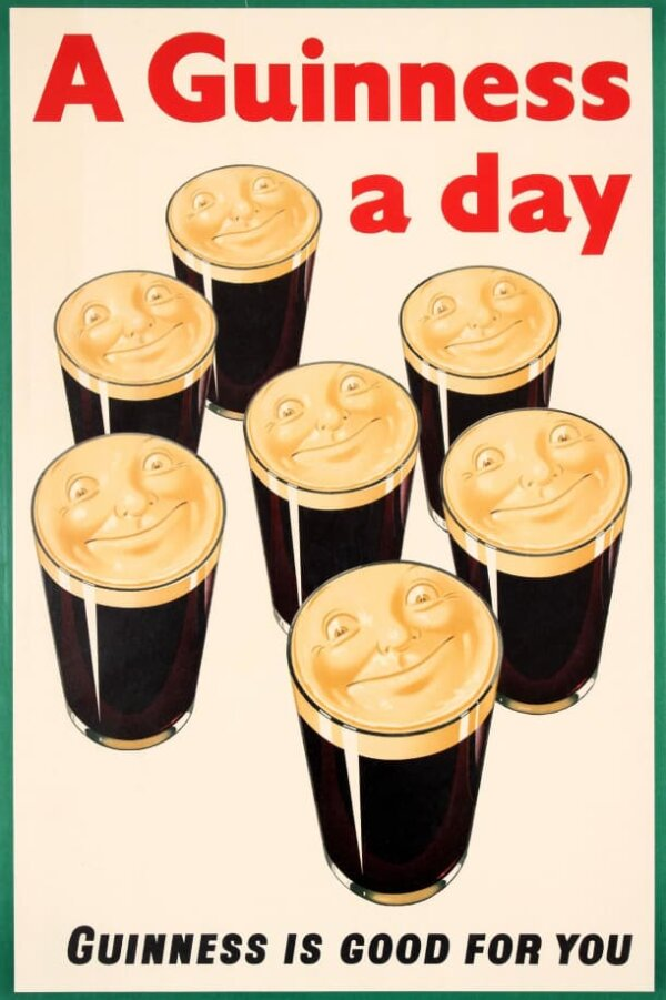A Guinness a day