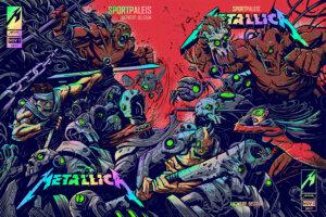 Постер Metallica Antwerp Belgium
