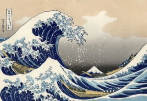 Кацусика Хокусай — Большая волна в Канагаве