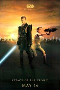 Постер по фильму Звёздные войны: Эпизод 2 — Атака клонов